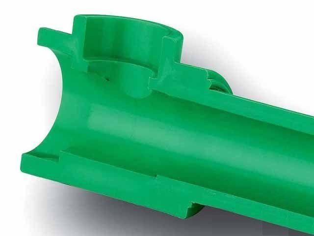 После сварки качественный стык полипропиленовых труб образует монолитную конструкцию
