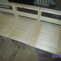 Изготовление садовой мебели – кресла для веранды или террасы