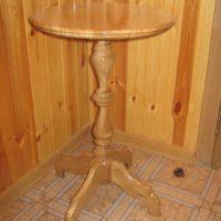 Кофейный столик из дерева своими руками