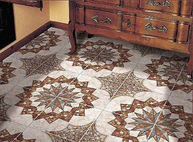 Качественная керамическая плитка обладает высокой износостойкостью