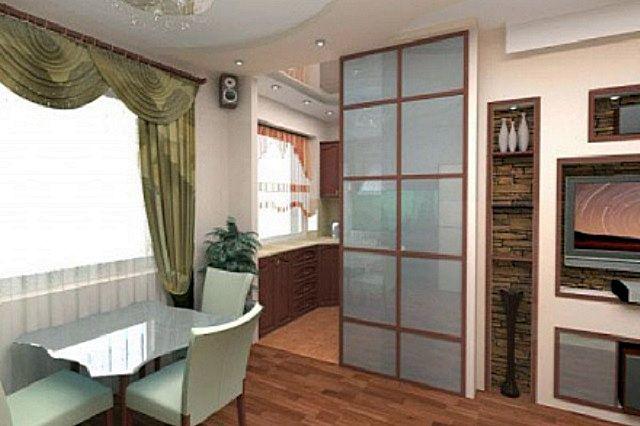 Кухня с установленными на ней газовыми приборами обязательно должна иметь закрывающуюся дверь в жилую зону