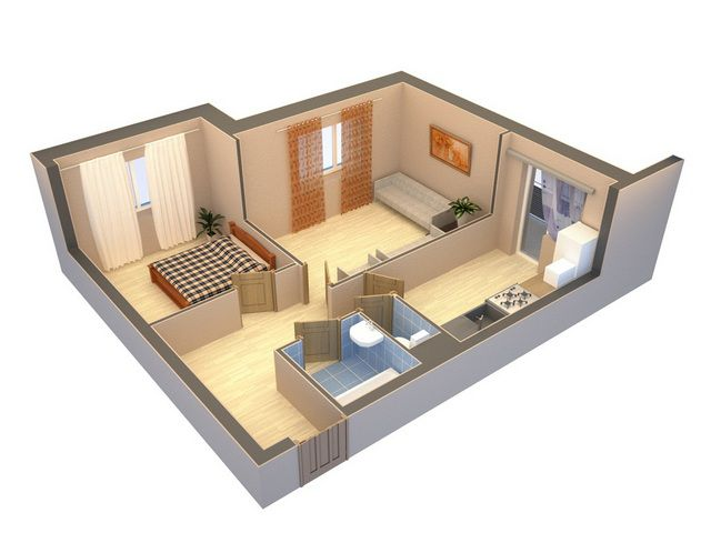 Любая перепланировка жилья может производиться только на основании согласованного и утверждённого проекта