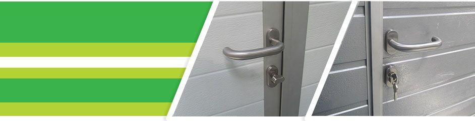 Устройство экстренного открывания дверей для секционных ворот