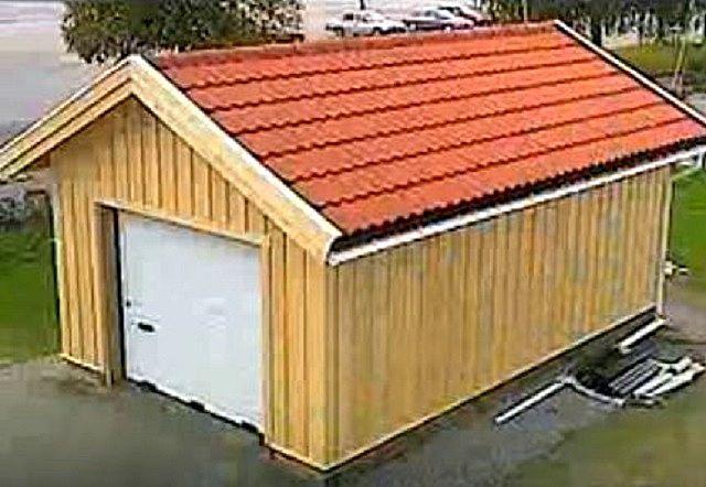 Нравится такой гараж? Давайте посмотрим, как его можно построить…