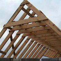 Установка стропил двухскатной крыши своими руками