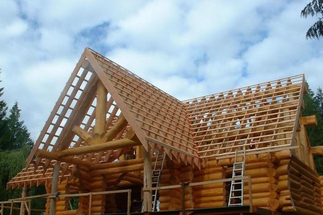 Калькулятор расчета длины накосного стропила многощипцовой крыши