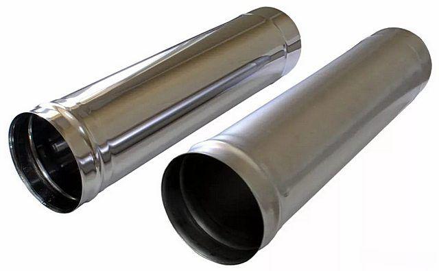 Моно-трубы для участка дымохода непосредственно после твердотопливного отопительного прибора.