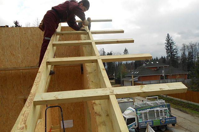Как сделать край крыши 156