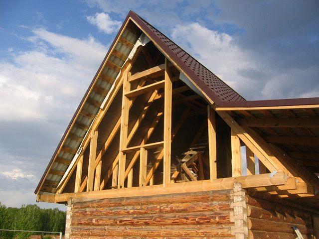 Своими руками фронтон деревянного дома