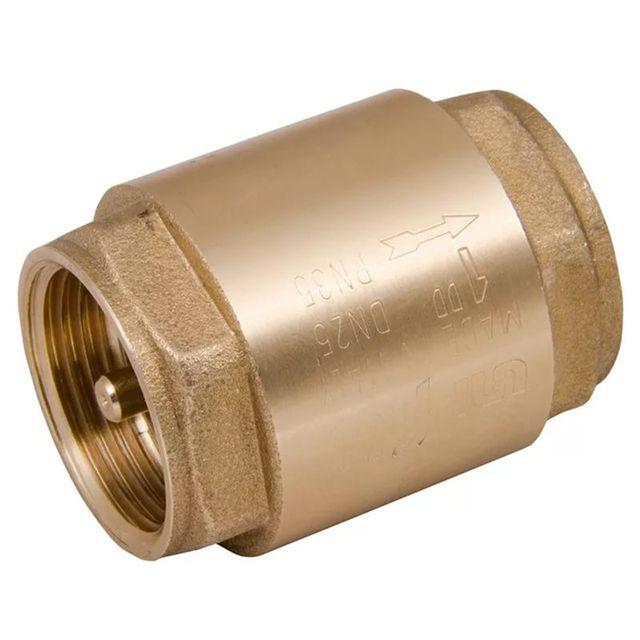 Обратные клапаны лучше выбирать с металлическим седлом