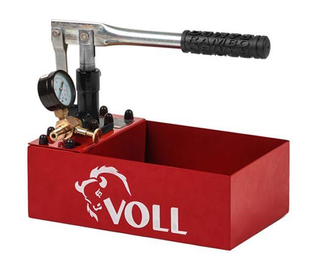 Опрессовочный насос Voll V-Test 25 родом из Поднебесной, но, тем не менее со своими задачами справляется хорошо