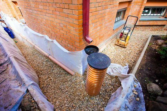 Идеальное решение для любого участка – это сочетание полноценных систем дренажа и ливневой канализации.
