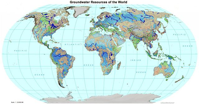 С запасами грунтовых вод у России все в порядке