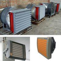 Воздушно-отопительный агрегат:  виды, технические характеристики и цены