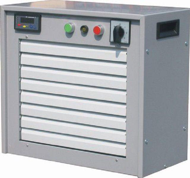 Электрические воздушно-отопительные агрегаты AGE – большой диапазон выбора по мощности и производительности