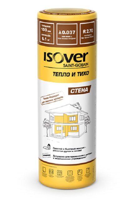 «Isover Тепло и Тихо Стена» — материал с повышенными показателями паропроницаемости