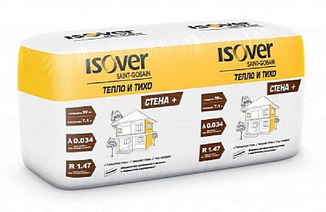 «Isover Тепло и Тихо Стена Плюс» — с повышенными теплотехническими характеристиками