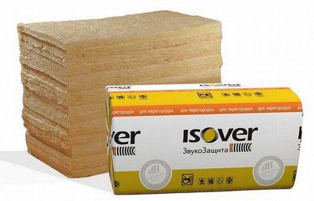 Шумопоглощающий материал на базальтовой основе — «Isover ЗвукоЗащита»