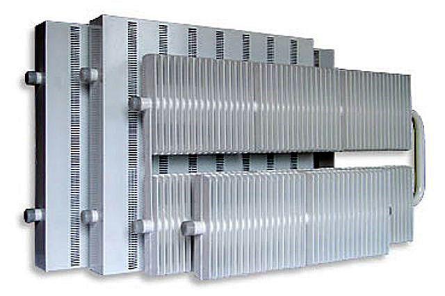 Биметаллические регистры: защищённые от коррозии полости труб из нержавейки и высокоэффективные алюминиевые теплообменники