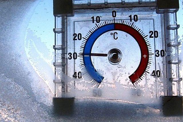Указывать необходимо те показатели минимальных зимних температур, которые для данного региона являются нормой