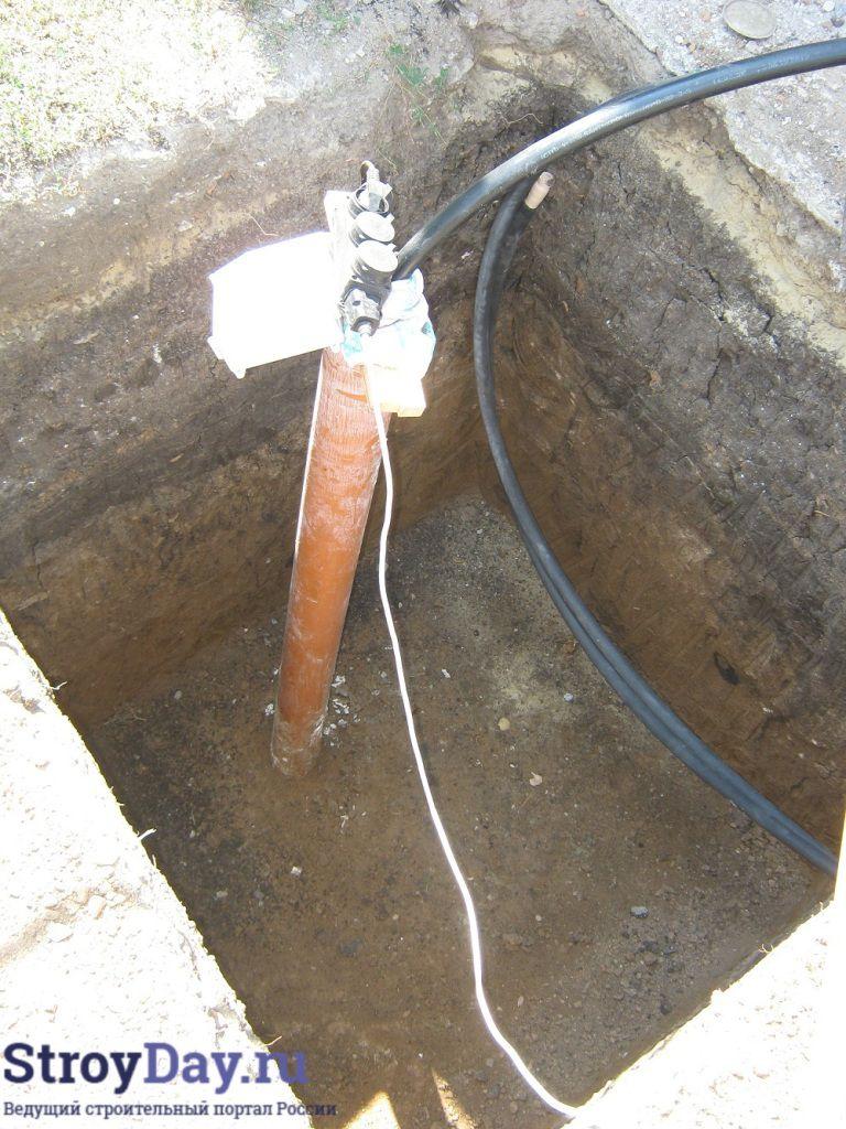 Фото 1. Прямоугольная яма