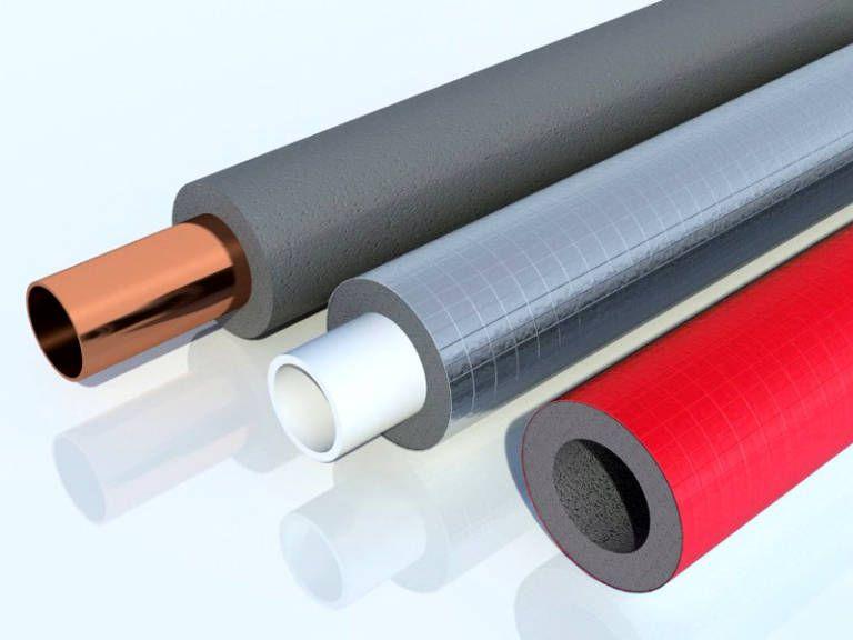 Внешнее полимерное покрытие утеплительных цилиндров повышает их устойчивость к негативным внешним воздействиям
