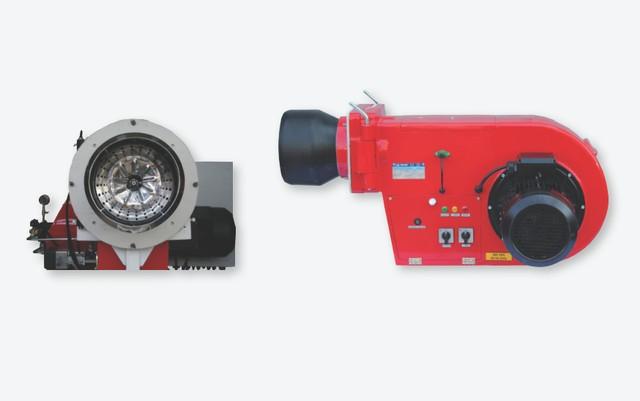 Трехступенчатая дизельная горелка модели «Uret U12VTTU»