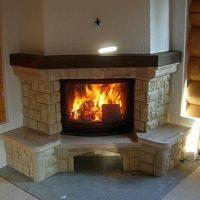 Камины для дома дровяные – как выбрать и сделать