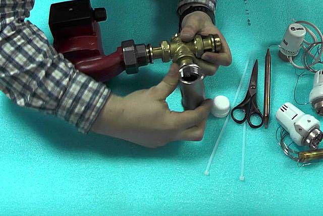 Смесительный узел для теплого пола своими руками
