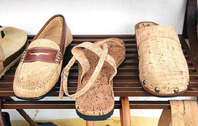 Лёгкая, почти невесомая качественная обувь из натурального пробкового сырья