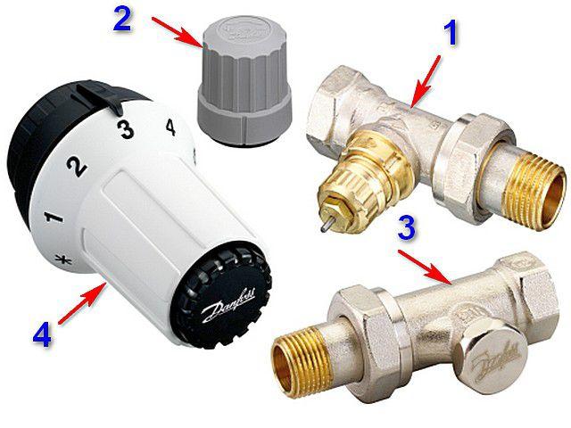 Очень часто терморегуляторы для радиаторов предлагаются в продаже именно в такой комплектации