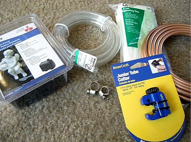 Нехитрый набор комплектующих для изготовления мини-кондиционера