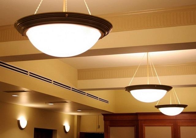 Типы светильников и расчет освещения помещения