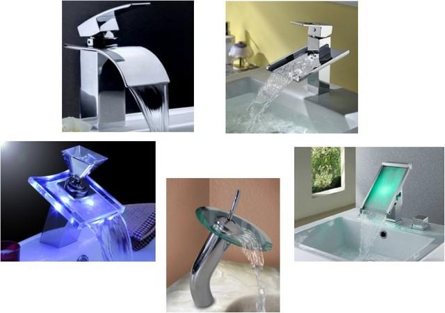 Несколько примеров из чрезвычайно широкого ассортимента смесителей каскадного типа