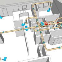 Вентиляция в частном доме: схема и монтаж