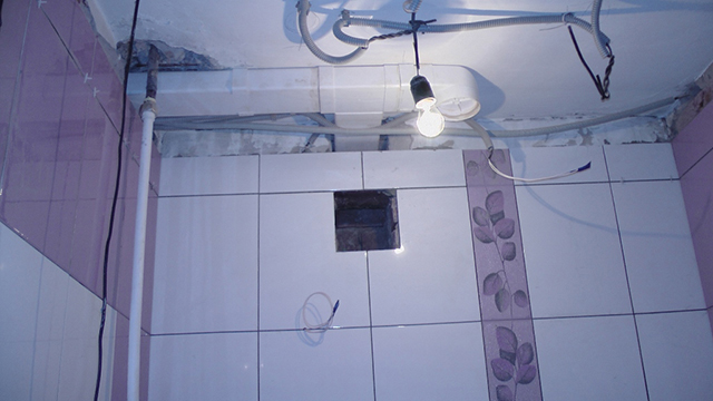 Вентиляционную отдушину и вентилятор можно разнести