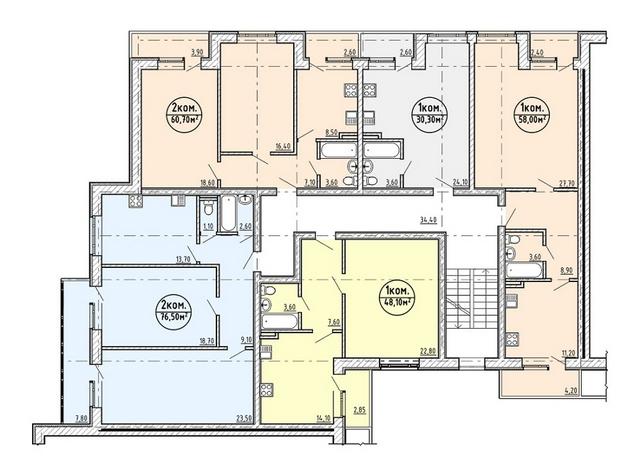 Расположение и самих квартир, и комнат в них может существенно различаться, что отражается и на потребности в количестве тепла. При автономной системе отопления с этой проблемой справиться легче