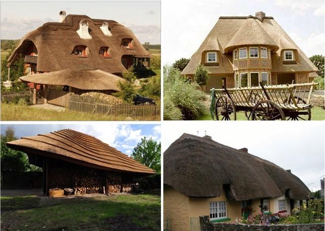 Каких-либо ограничений для фантазии при создании камышовых крыш – наверное, и нет