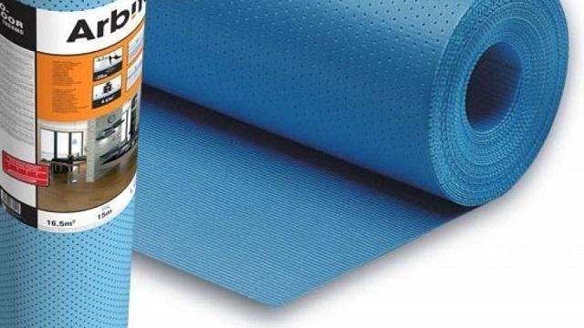 Подложка «Arbiton Floor Thermo» специально предназначена для настила покрытий над водяной системой «теплого пола».