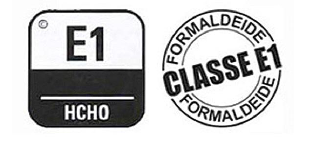 Обязательно обращайте внимание на значки, говорящие о степени эмиссии формальдегида. В идеале ее вообще не должно быть (Е0). В крайнем случае допускается для жилых помещений класс эмиссии Е1.