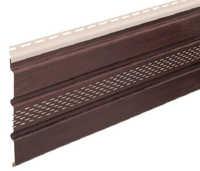 Замковые соединения на стандартных софитных панелях.